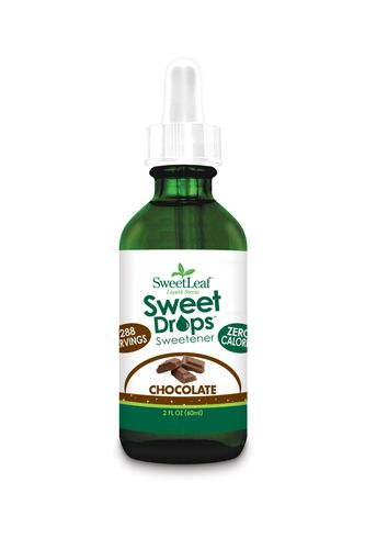 SweetLeaf Sweet Drops Chocolate Liquid Stevia stéviové kapky 60 ml