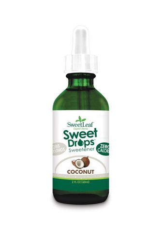 SweetLeaf Sweet Drops Coconut Liquid Stevia stéviové kapky 60 ml