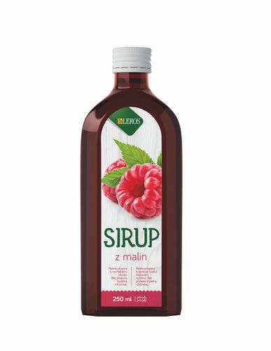 Leros Sirup z malin 250 ml
