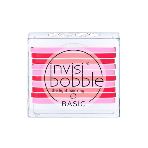 Invisibobble BASIC Jelly Twist gumička do vlasů 10 ks