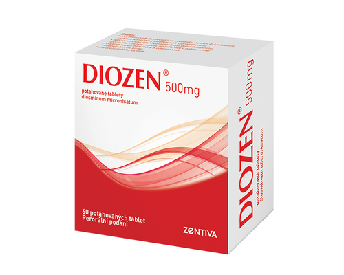 DIOZEN 500 mg 60 tablet