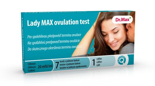 Dr.Max Lady MAX ovulation test 7 ks