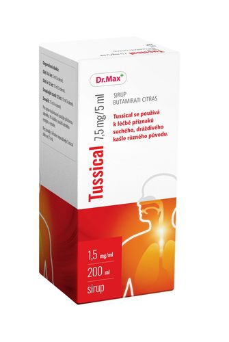 Dr.Max Tussical 7,5 mg/5 ml sirup 200 ml