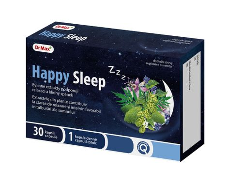 Dr.Max Happy Sleep 30 kapslí