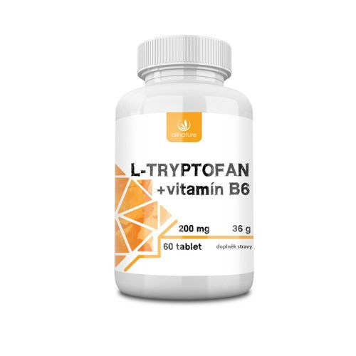 Allnature L-tryptofan + vitamin B6 200mg/2,5mg 60 tablet